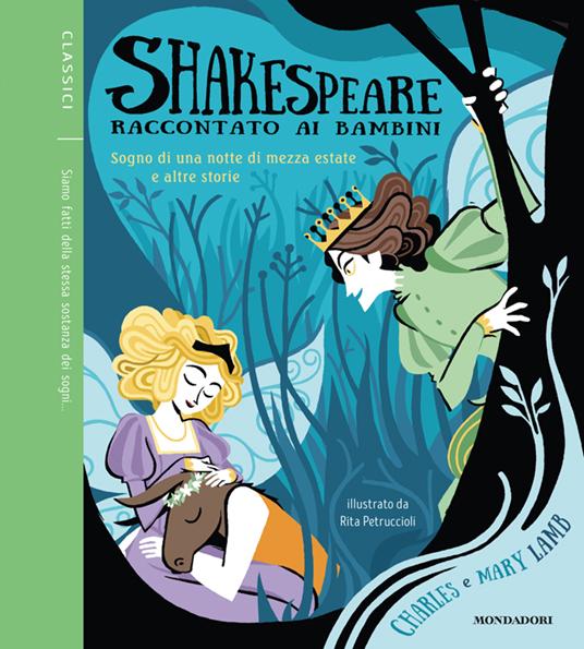 Shakespeare raccontato ai bambini - Cover