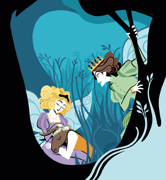 Shakespeare raccontato ai bambini - Cover illustration