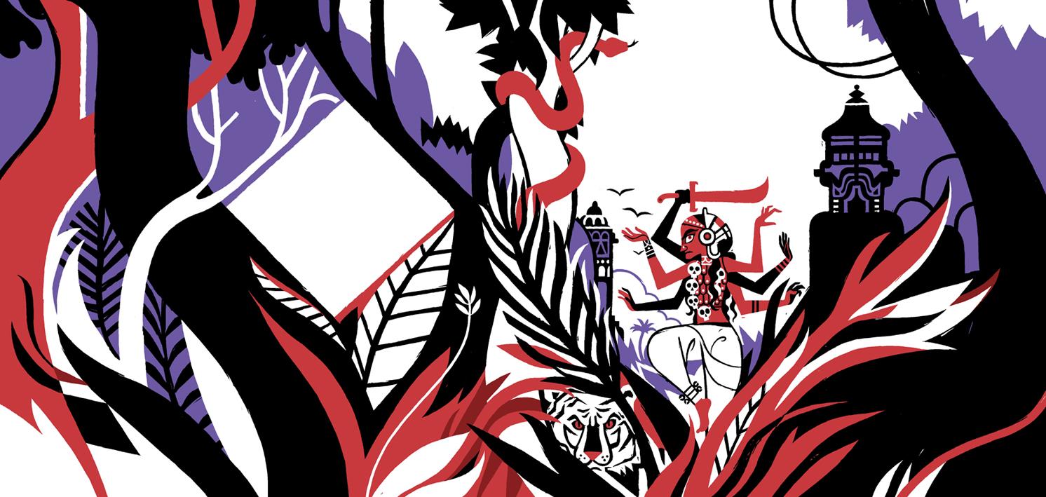I misteri della Jungla Nera - Cover design